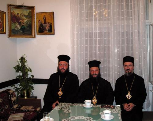 Архиепископ Јован у београдском манастиру Ваведење