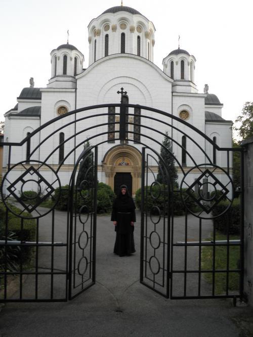 Монахиња Теодора у манастиру Ваведење, Београд