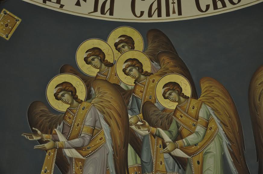 Фреске манастира Ваведења у Београду