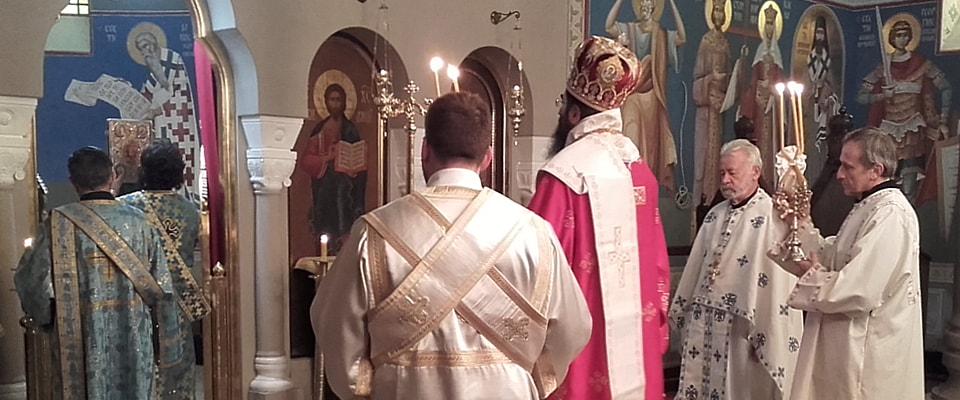 Празник Св. великомученика Димитрија у манастиру Ваведење у Београду