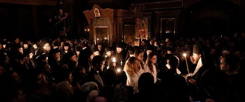 Монашки постриг у Сретењском манастиру. Фото: А. Горјаинов