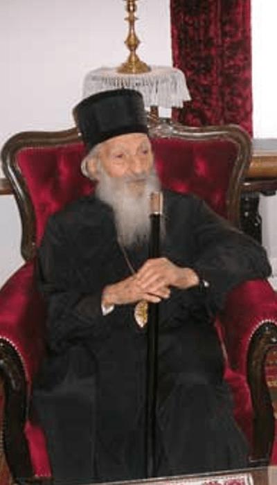 Патријарх Павле у манастиру Ваведење.