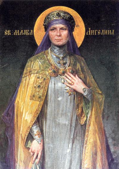 Света Ангелина мајка српска