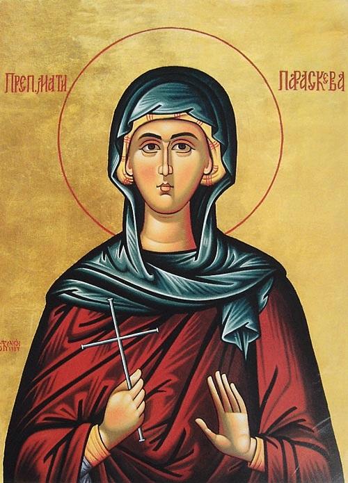 Св. Петка мати Параскева