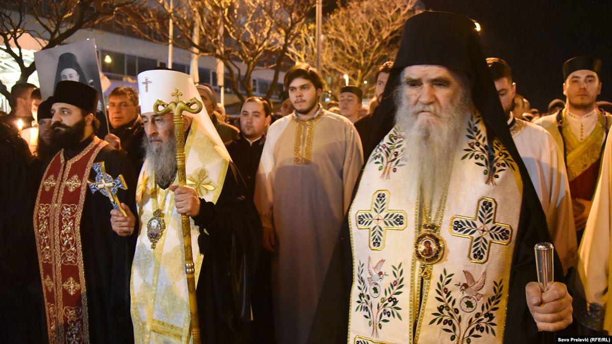 Митрополит Онуфрије у Подгорици: Ко је са Христом, њега не може никакво зло да надвлада
