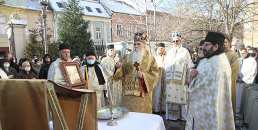 Празник Богојављења у Саборном храму у Новом Саду