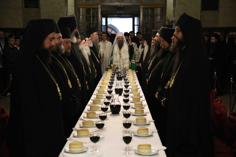 Наречење Епископа марчанског Саве (Бундала), викара Патријарха српског